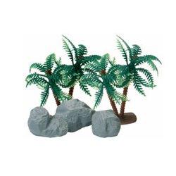 SET PALM TREE + STONES BOX 72 UNITS