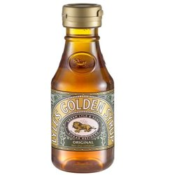 GOLDEN SYRUP GOLDEN MAPLE FLAVOR LYLES BOTTLE 454 GRAMS