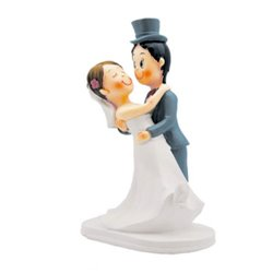 WEDDING COUPLE DANCE RESIN 16 CM. ( NO0208 )