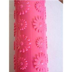 PINK FLOWER TEXTURE ROLLER