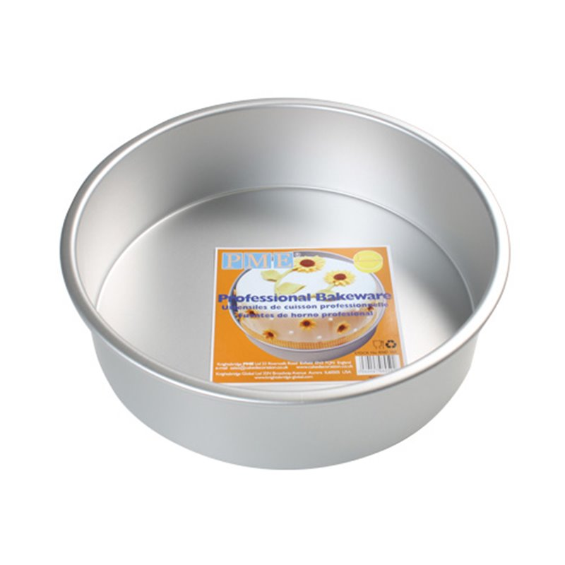 ROUND CAKE MOULD 12.5 X 7.5 CM. HEIGHT PME ( RND053 )