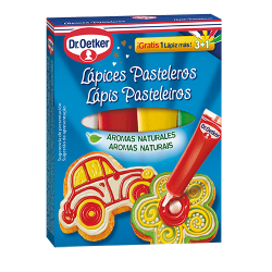 PASTRY PENCILS 3+1 DR. OETKER