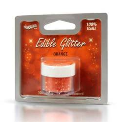 EDIBLE GLITTER ORANGE 5...