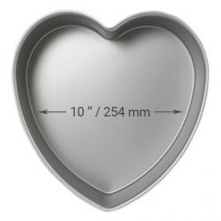 MOLDE BIZCOCHO CORAZON 25 X 5.CM. ALTURA PME(HRT102)