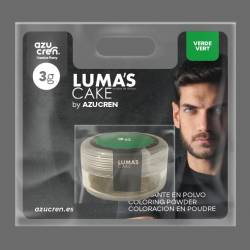 POWDER COLOR LUMA´S GREEN