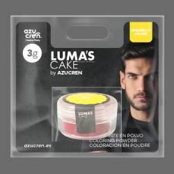 COULEUR DE LA POUDRE JAUNE DE LUMA