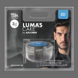 COULEUR DE LA POUDRE BLEU DE LUMA