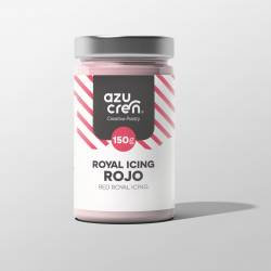 ROYAL ICING ROJO 150 GRAMOS AZUCREN