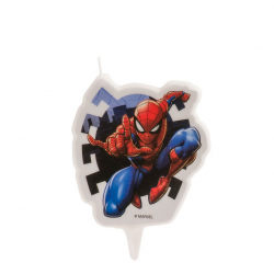 CANDLE 2D SPIDERMAN 7CM....