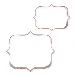 SET 2 CUTTERS PLATE STYLE 1 PME (CS621)