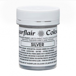 SUGARFLAIR SILVER CHOCOLATE...
