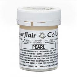 SUGARFLAIR SILVER CHOCOLATE PAINT 35GR(C502)