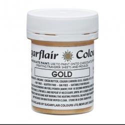 SUGARFLAIR GOLD CHOCOLATE PAINT 35GR(C503)