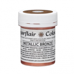 PAINT FOR CHOCOLATE METALLIC BRONZE SUGARFLAIR 35GR(C505)