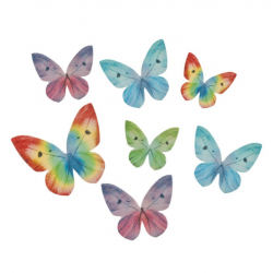 ASSORTED WAFER BUTTERFLY 87...