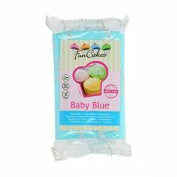FUNCAKES FONDANT BABY BLUE 250GR(FC97950)