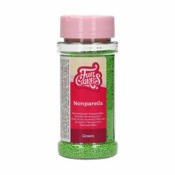 FUNCAKES NONPAREILS GREEN  80GR(F51535)