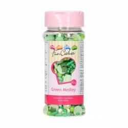 FUNCAKES SPRINKLES MEDLEY - GREEN 65 GRAMOS ( G41716 )