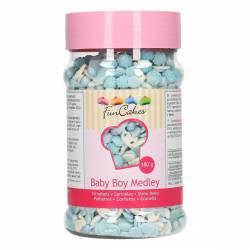 FUNCAKES SPRINKLES MEDLEY- BABY BOY 150 GRAMOS ( G42684 )