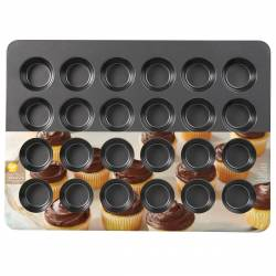 MOULD 24 MUFFINS WILTON ( 2105-6966 )