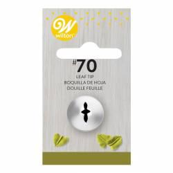 "BOQUILLA Nº 70 WILTON "" HOJA "" ( 418-70 )"