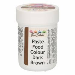 DARK BROWN COLOURING PASTE 30 GRAMS FUNCAKES ( FC50278 )