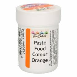 ORANGE FOOD COLOURING PASTE ( ORANGE ) 30 GRAMS FUNCAKES...