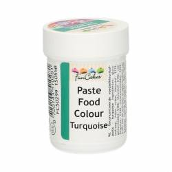 TURQUOISE FOOD COLOURING PASTE 30 GRAMS FUNCAKES ( FC50299 )