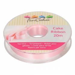 FUNCAKES PINK CAKE TAPE 15MM X 20 M. ( FC3110 )