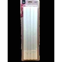 PACK 4 PILLARES 30cm x 1,8cm