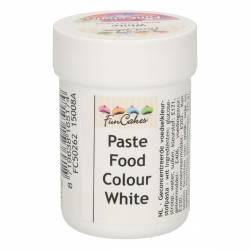 FUNCAKES COLOURING PASTE WHITE ( WHITE ) 30GR. ( FC50262 )