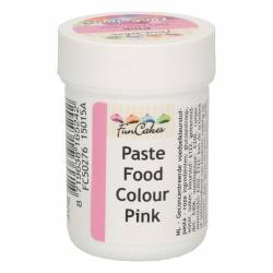 FUNCAKES COLOURING PASTE PINK 30GR. ( FC50246 )