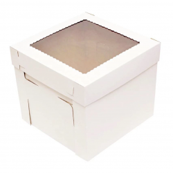 EXTRA STRONG BOX WITH WINDOW 20x20x15cm
