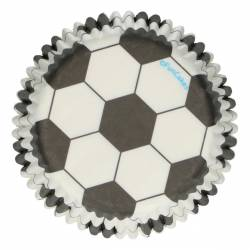 48 UNITS CAPSULES FOOTBALL FUNCAKES ( F84200 )