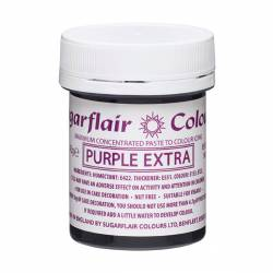 EXTRA PURPLE ( C107 ) GLUTEN FREE SUGARFLAIR CAN 42 GRAMS