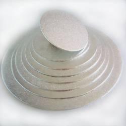 FUNCAKES RUNDE BASIS SILBER 22,5 X 4 MM ( FC922RD )