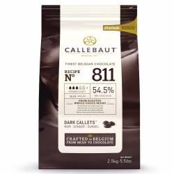 copy of CALLEBAUT DARK CHOCOLATE CALLETS- 2.5 KG, ( Nº811 )