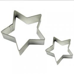 SET 2 PME STAR METAL CUTTERS ( SC605 )