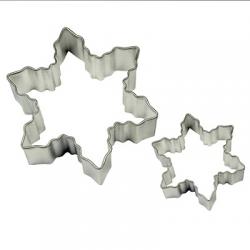 SET 2 METAL SNOWFLAKE CUTTERS PME ( SC600 )