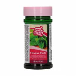 FUNCAKES MINT GREEN FLAVOURING PASTE 100 GRAMS ( F56180 )