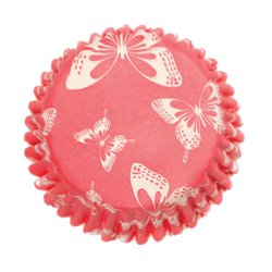 CAPSULES CUPCAKES BLUSH BUTTERFLY 54 UNITS CULPITT ( 2215 )