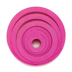 SET 6 PLASTIC CUTTERS WITH CIRCULAR SHAPE DECORATES ( 0255300 )