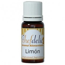 LEMON AROMA CONCENTRATE 10 ML. CHEFDELICE ( 1001)