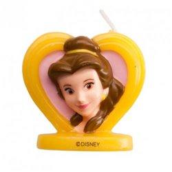 3D BEAUTIFUL HEART CANDLE 5.5 CM. DEKORA (346206)