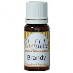 CONCENTRATED AROMA BRANDY 10 ML. CHEFDELICE ( 1004)