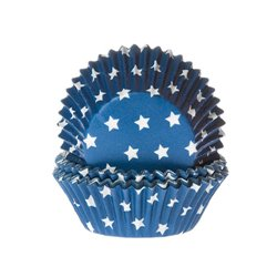 BLUE CAPSULES WITH WHITE STARS 50 UNITS HOUSE OF MARIE