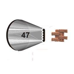 """NOZZLE Nº 47 WILTON """" BASKET """" ( 418-47 )"""