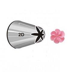 """NOZZLE Nº 2D WILTON """" FLOWER DROP """" ( 418-2004 )"""