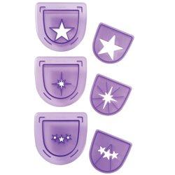 SET 3 CUTTERS WILTON STARS ( 1907-1125 )