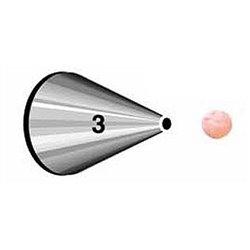 "NOZZLE Nº 3 WILTON "" ROUND "" ( 418-3 )"